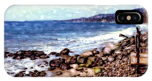 Malibu Shore IPhone Case