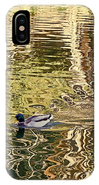 Mallard Painting IPhone Case