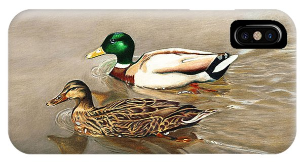 Mallards IPhone Case
