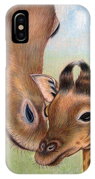 Mama Loves Me IPhone Case