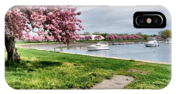 Mamaroneck Harbor IPhone Case