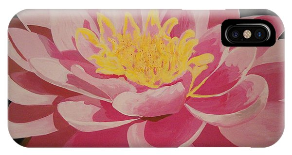 Mama's Lovely Lotus IPhone Case