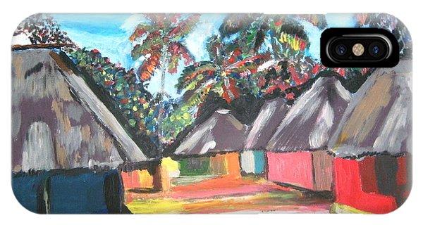 Mamboima The Tamarinds Village IPhone Case
