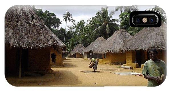 Mamboima Village IPhone Case
