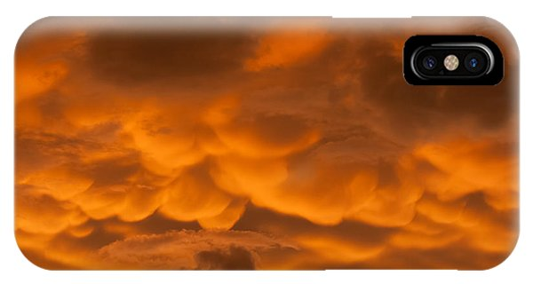 Mammatus Clouds IPhone Case