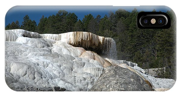 Mammoth Hot Springs 1 IPhone Case