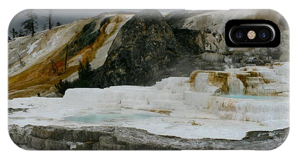 Mammoth Hot Springs IPhone Case