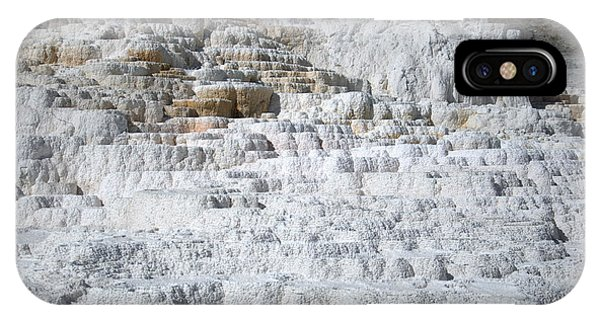 Mammoth Hotsprings 3 IPhone Case