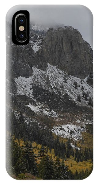 Mammoth Rock Fall Color IPhone Case