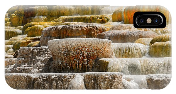 Mammoth Springs IPhone Case