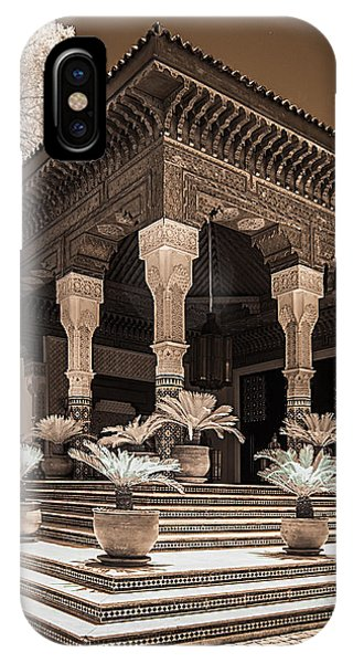 Mamounia Hotel In Marrakech IPhone Case