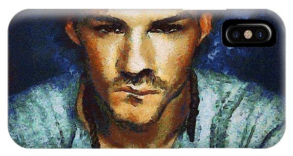 Man A La Van Gogh IPhone Case