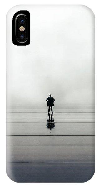 Man Alone IPhone Case