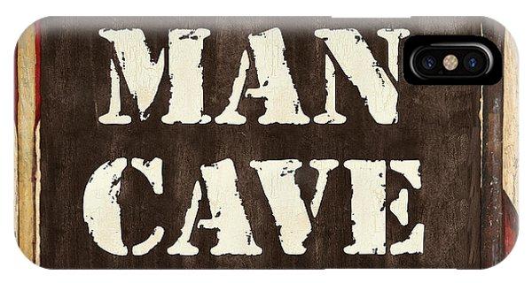 Fishing Boat iPhone Case - Man Cave Do Not Disturb by Debbie DeWitt