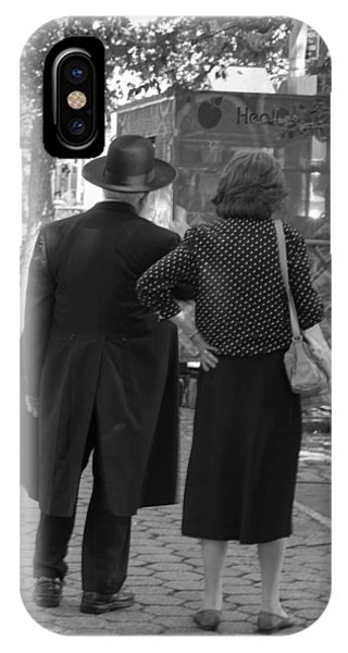 Man Hat And Woman IPhone Case