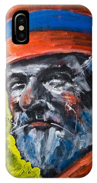 Man In Red Hat IPhone Case