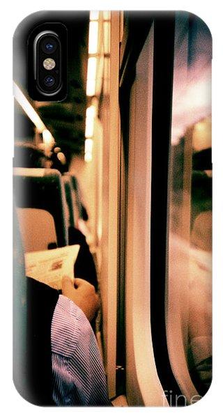 Man On Train - Lomo Lca Xpro Lomographic Analog 35mm Film Phone Case by Edward Olive