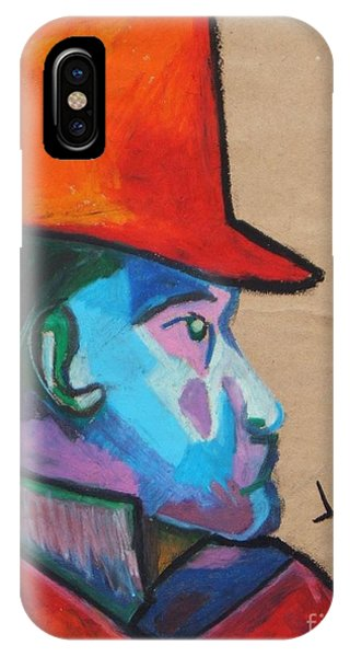 Man With Top Hat IPhone Case