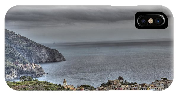 Manarola And Corniglia By The Sea 1 IPhone Case