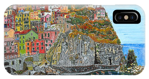 Manarola In Cinque Terra IPhone Case