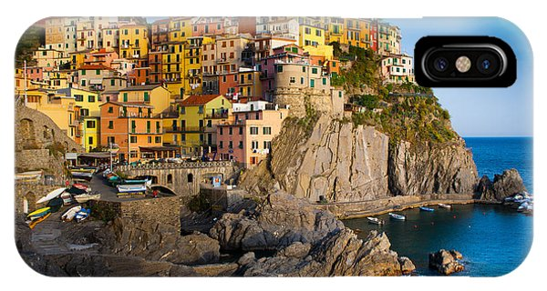 Italy iPhone Case - Manarola by Inge Johnsson