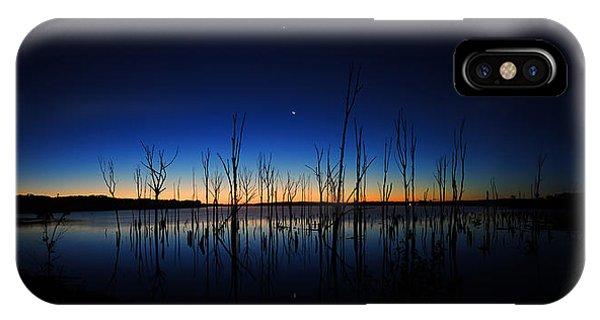 Manasquan Reservoir At Dawn IPhone Case