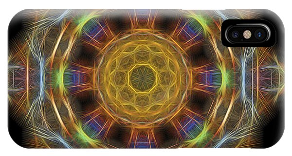 Mandala Of Light 1 IPhone Case
