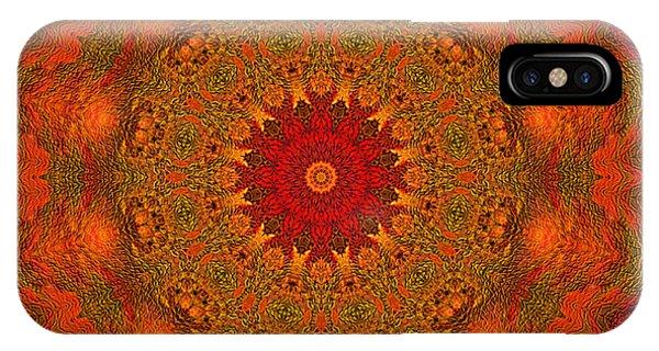 Mandala Of The Rising Sun - Spiritual Art By Giada Rossi IPhone Case