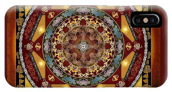 Mandala Oriental Bliss IPhone Case