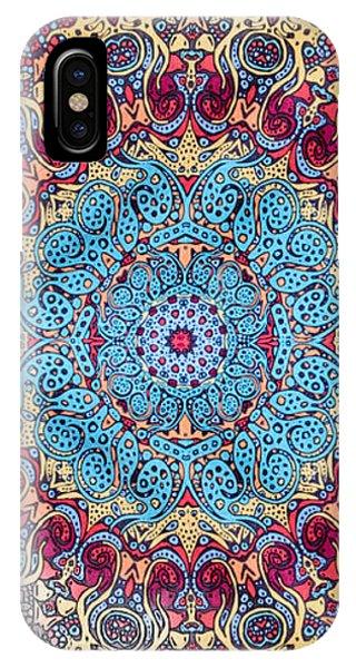 Mandalan Tapestry IPhone Case
