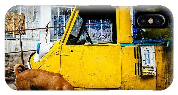Mandalay Street Scene IPhone Case