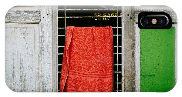 Mandalay Window Scene IPhone Case