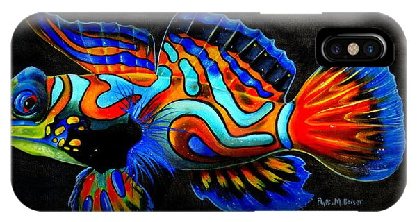 Mandarin Fish IPhone Case