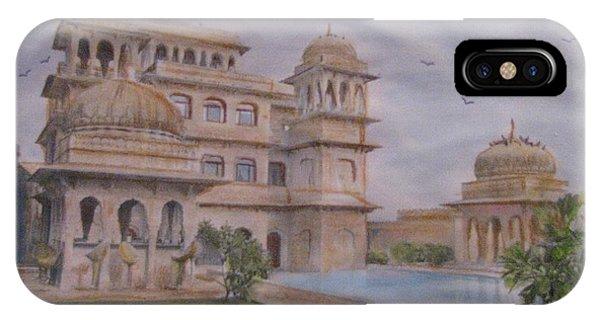 Mandawa Hotel IPhone Case