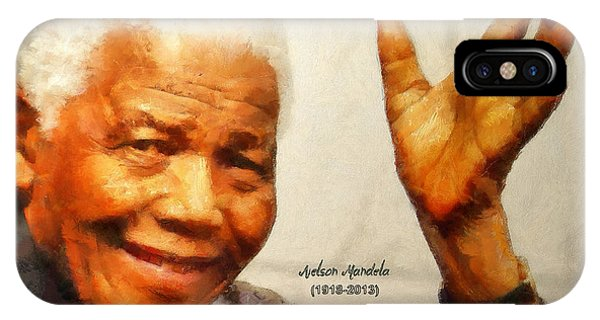 Mandela Farewell IPhone Case