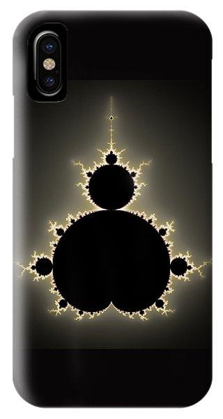 Mandelbrot Set Square Format Art IPhone Case