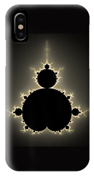 Mandelbrot Set Square Format Art IPhone Case