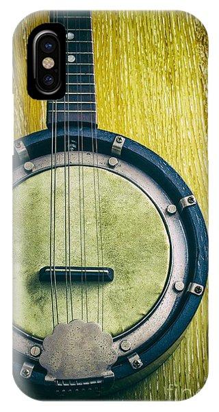 Culture Club iPhone Case - Mandolin-banjo by Carlos Caetano