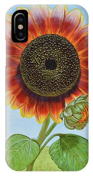 Mandy's Magnificent Sunflower IPhone Case