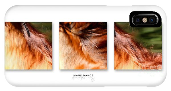 Mane Dance Triptych IPhone Case