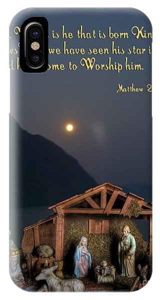 Manger Scene IPhone Case