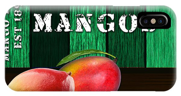 Mango Farm Sign IPhone Case