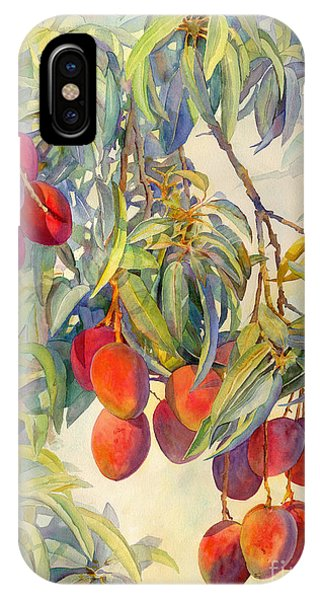 Mangoes In The Evening Light IPhone Case