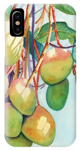 Mango iPhone Case - Mangoes by Marionette Taboniar
