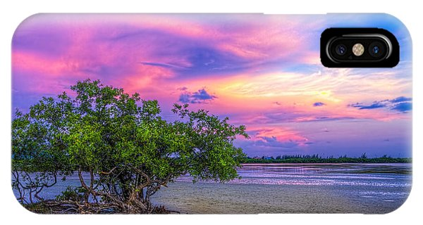 Salt Water iPhone Case - Mangrove By The Bay by Marvin Spates
