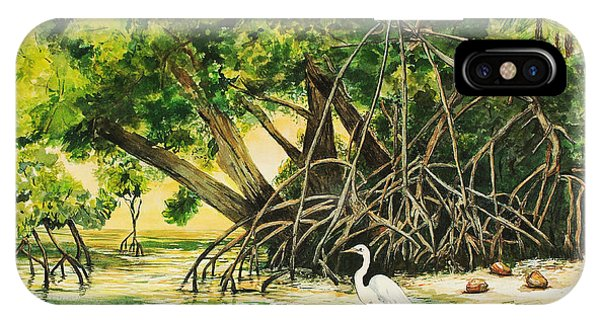 Mangrove Morning IPhone Case