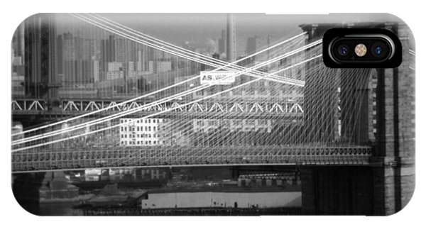 Manhattan And Brooklyn Bridge's IPhone Case