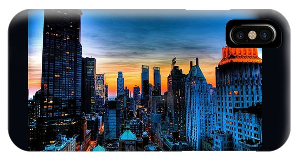Manhattan At Sunset IPhone Case