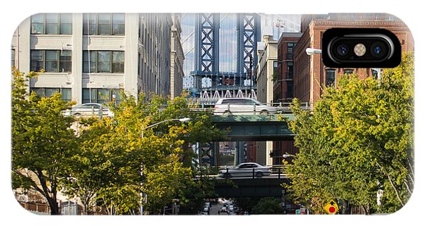 Manhattan Bridge From Dumbo IPhone Case
