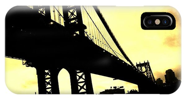 Manhattan Bridge IPhone Case